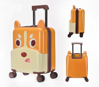 Little-Dog 3D Designed ABS+PC  Kids Suitcase